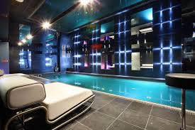 indoor pool lighting chalet e in courchevel 1850 france