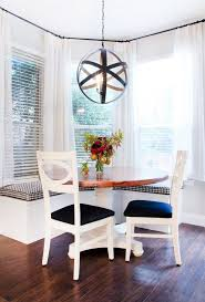 cute breakfast ideas dining room mediterranean with wood flooring