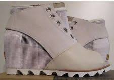 ebay womens sorel boots size 9 sorel joanie mule wedge womans size sea salt elk nl2227 125 8 ebay