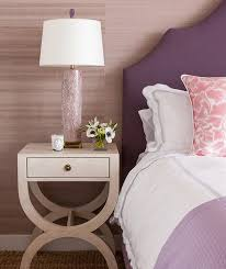 Bedroom Purple Wallpaper - purple and gray bedroom design ideas
