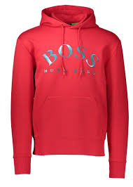 hugo boss sly hoodie medium red hoodies from triads uk