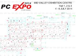 network floor plan layout pc expo 2014 pricelists floorplans promotions buying guides