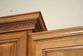 kitchen cabinet crown molding designs