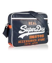 alumni bag new mens superdry mash up alumni bag navy ebay