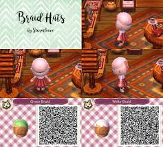 animal crossing new leaf qr code hairstyle animal crossing new leaf qr code cute braided hair braid hat