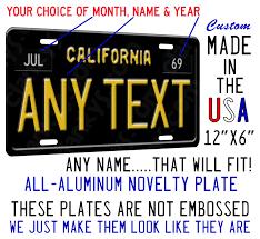 collectible california license plates ebay
