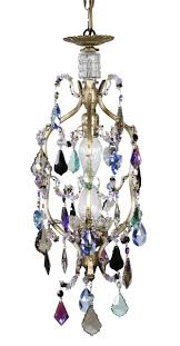 petite chandelier small crystal chandelier u2022 colorful chandelier u2022 karen curtis