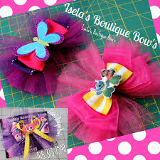 tulle hair bows how to make a easy tulle hair bow