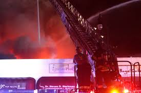 firefighters battle huge blaze in cliffside park nj com