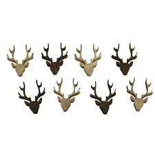 stag head designs rayher wooden stag head 56657000 shapes 2 cm laser cut 2 designs