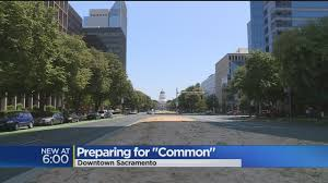 large crowds expected for sacramento common concert on monday