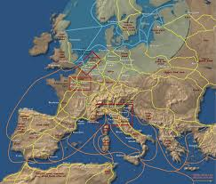 Agrarian Skies Map The Rise Of Europe In The Middle Ages