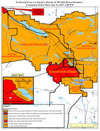 Prince George Bc Wildfire by Evacuation Order Lifted For 100 Mile House And South Cariboo