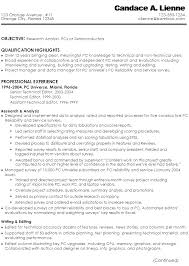 Ideal Resume For Someone With by Resume For A Technical Writer Research Analyst Susan Ireland