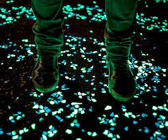 glow in the in the pebbles