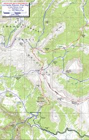 Colorado On The Map by Wheeler Loop La Garita Wilderness Colorado Free Topo Trail Maps