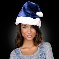 blue santa hat navy blue santa claus hat goimprints