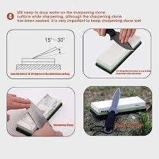 amazon com knife sharpening sharpener stone whetstone waterstone