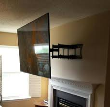 Tv Mount Over Fireplace by Tv Over Fireplace Mounting And Installation Services Charlotte Nc