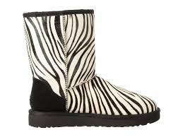 ugg zebra boots sale ugg australia zebra s 1019123 boots