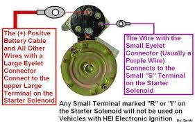 wiring chevy starter diagram wiring wiring diagrams instruction