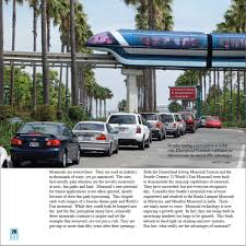 monorails trains of the future now arriving by kim a pedersen