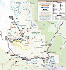 State Park Map by State Forest State Park Outthere Colorado
