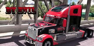 hell energy drink skin freightliner coronado mod american