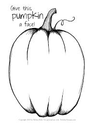 pumpkin coloring pages u0026 printables u2013 fun for halloween
