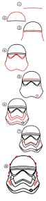 how to draw thanksgiving pictures how to draw a first order storm trooper helmet art for kids hub