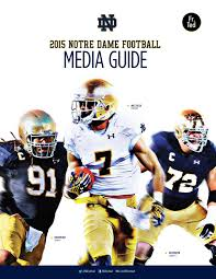 Atlanta Journal Constitution U2013 Martin 2015 Notre Dame Football Media Guide By Chris Masters Issuu