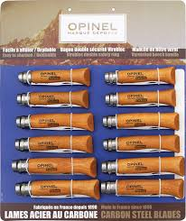 Opinel Kitchen Knives Review Opinel Op82085 Folding Knife Carbon Steel Wood Handle Knife Set