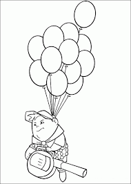 disney movies coloring pages pixar russell coloring