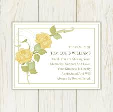 funeral thank you notes friendship bereavement thank you cards with photo also sympathy
