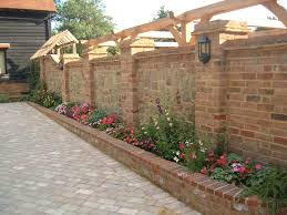 Garden Brick Wall Design Ideas Garden Bricks I Garden Bricks For Edging