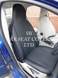 housse siege auto cuir adapté à kia soul housses de siège auto rossini anthracite bordure