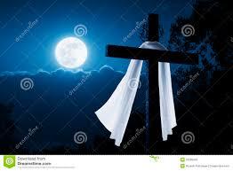 jesus christ cross easter resurrection concept stock photo