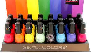 amazon com sinful colors nail polish pride lacquer 8 colors