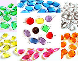 Edible Candy Jewelry Sugar Gems Jewels Edible Diamonds Assorted Colors Pirate