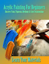 art theory online classes beginners acrylic painting color