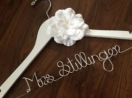 bridal hangers with name hanger inspirations decoration