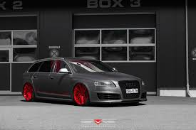 audi wagon black vossen wheels audi rs6 vossen forgedprecision series vps 307t