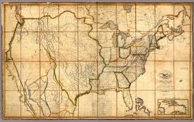 Detailed Map Of The United States by Map Of The United States With The Contiguous British U0026 Spanish