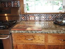 hammered copper backsplash kitchen wallpaper image kitchen room