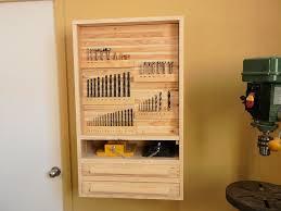 to make a drill press cabinet