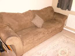 Kfi Furniture Asheboro Nc Sofa Bed Faux Suede King Size Excellent Condition In Alnwick