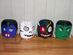 Recycled Halloween Crafts - 9 diy halloween masks to make with your kids inhabitots