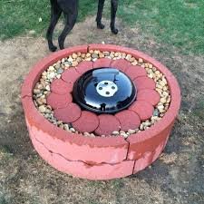 Concrete Fire Pits by How To Be Creative With Stone Fire Pit Designs Backyard Diy