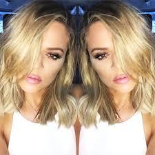 khloé kardashian debuts short lob khloe kardashian short hair i want this haicut hair skin care
