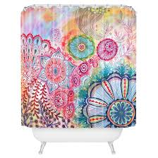 stephanie corfee frolicing shower curtains deny designs target
